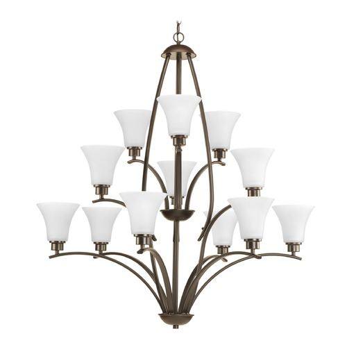 Progress Lighting Progress Lighting Joy Antique Bronze Chandelier P4497-20W