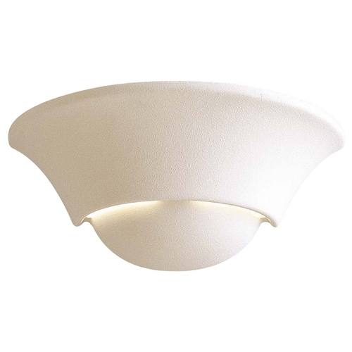 Minka Lavery Modern Sconce Wall Light with Beige / Cream Porcelain Shade in White Finish 353