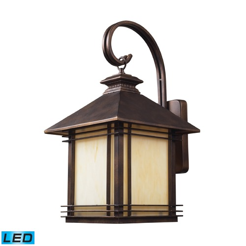 Elk Lighting Elk Lighting Blackwell Hazlenut Bronze LED Outdoor Wall Light 42102/1-LED
