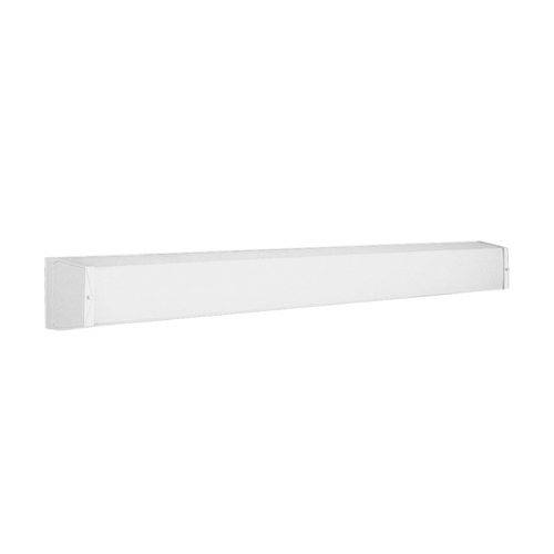 Progress Lighting Linear Fluorescent Bath White Bathroom Light - Vertical or Horizontal Mounting P7133-30EB