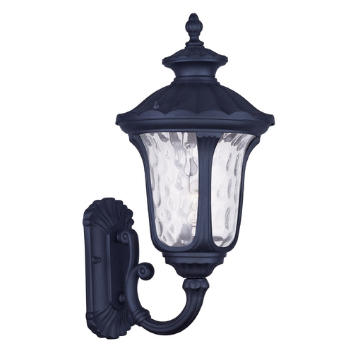 Livex Lighting Livex Lighting Oxford Black Outdoor Wall Light 7852-04