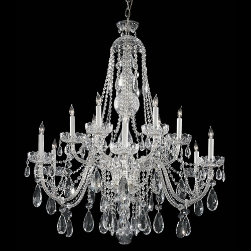 Crystorama Lighting Crystorama Lighting Traditional Crystal Polished Chrome Chandelier 1114-CH-CL-S