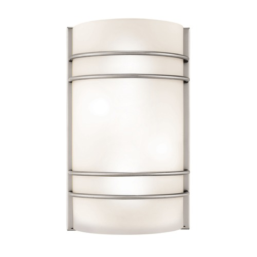 Access Lighting Access Lighting Artemis Brushed Steel LED Sconce 20416LEDD-BS/OPL