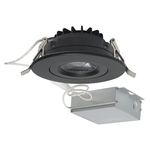 Satco Lighting Satco 12 Watt LED Direct Wire Downlight Gimbaled 4-inch 3000K 120 Volt Dimmable S11619