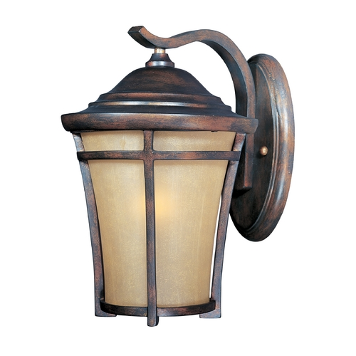 Maxim Lighting Outdoor Wall Lantern with Golden Frost Glass - 11-1/2-Inches Tall 40163GFCO