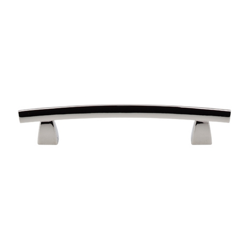 Top Knobs Hardware Modern Cabinet Pull in Polished Nickel Finish TK4PN