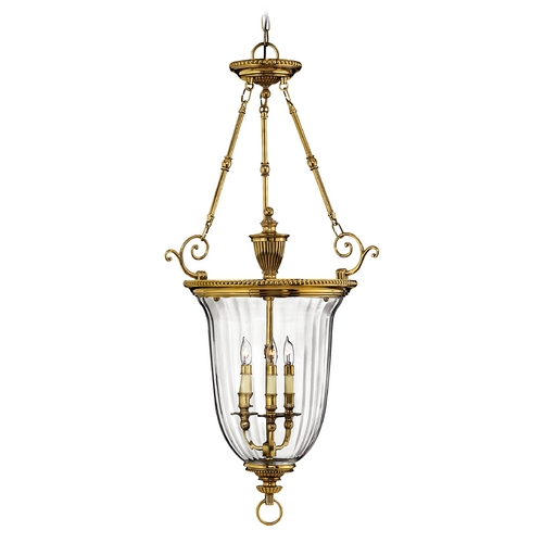 Hinkley Lighting Three-Light Pendant 3614BB