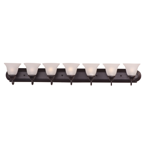 Maxim Lighting Maxim Lighting Essentials Oil Rubbed Bronze Bathroom Light 8016FTOI
