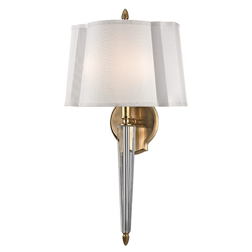 Hudson Valley Lighting Hudson Valley Lighting Oyster Bay Aged Brass Sconce 3611-AGB