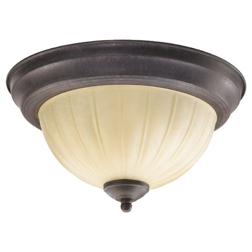 Quorum Lighting Quorum Lighting Toasted Sienna Flushmount Light 3077-11-44