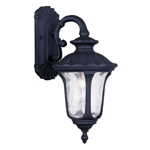 Livex Lighting Livex Lighting Oxford Black Outdoor Wall Light 7851-04