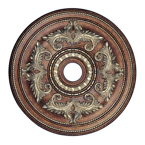 Livex Lighting Livex Lighting Palacial Bronze with Gilded Accents Ceiling Medallion 8210-64