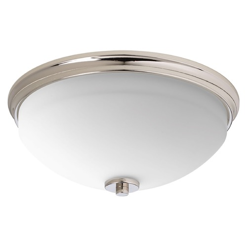 Progress Lighting Progress Lighting Replay Polished Nickel Flushmount Light P3423-104