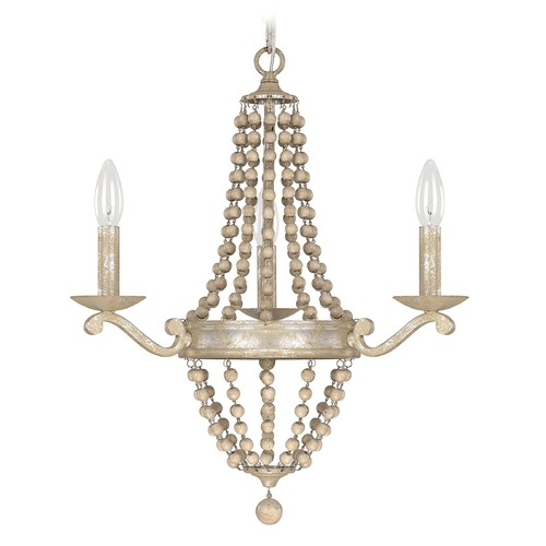 Capital Lighting Capital Lighting Adele Silver Quartz Chandelier 4443SQ-000