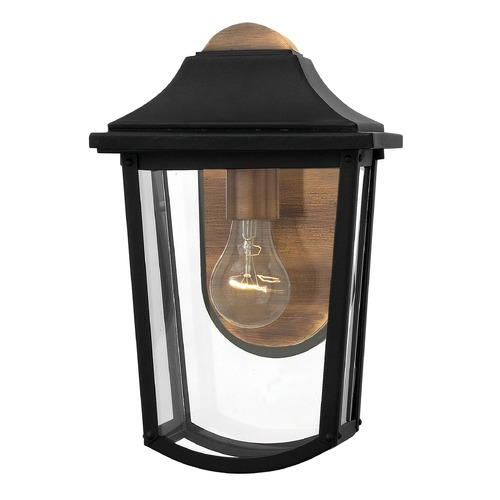 Hinkley Lighting Hinkley Lighting Burton Black Outdoor Wall Light 1970BK