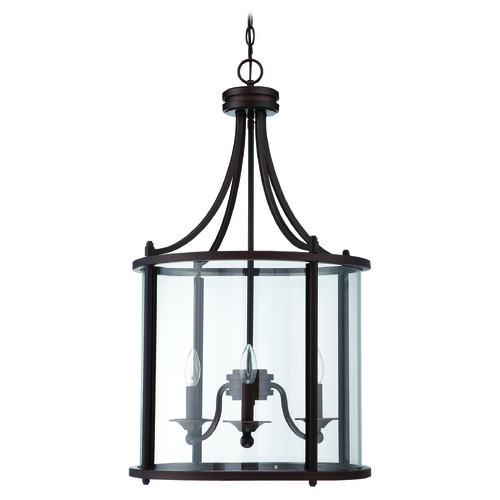 Jeremiah Lighting Jeremiah Lighting Carlton Aged Bronze Pendant Light 39533-ABZ