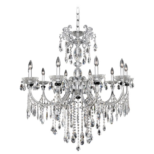 Allegri Lighting Steffani 8 Light Crystal Chandelier 024251-010-FR001