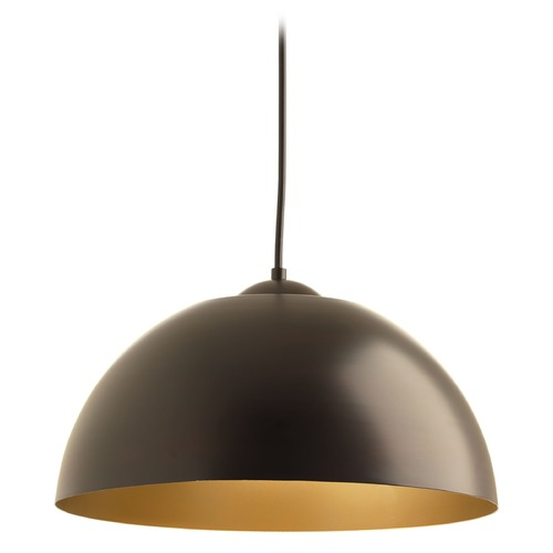 Progress Lighting Progress Lighting Dome Antique Bronze LED Pendant Light P5341-2030K9