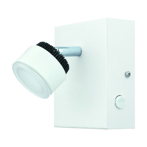 Eglo Lighting Eglo Armento White & Black LED Sconce 93852A