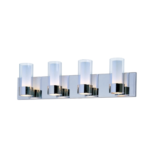 Maxim Lighting Maxim Lighting Silo Chrome Bathroom Light 23074CLFTPC