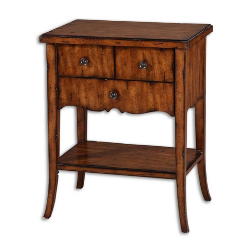 Uttermost Lighting Coffee & End Table in Old Barn Finish 24140