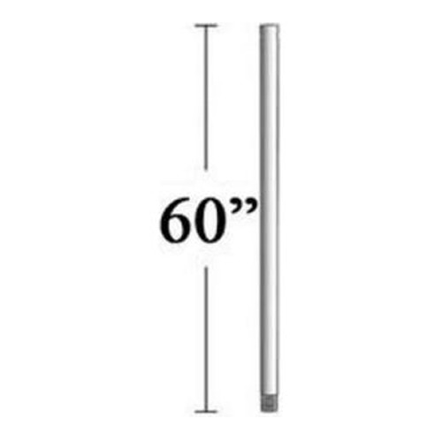 Minka Aire 60-Inch Downrod for Minka Aire Fans - High Gloss Pure Red Finish DR560-RD