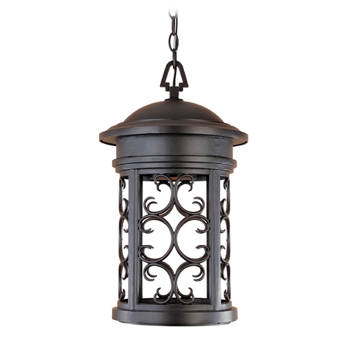 Designers Fountain Lighting Outdoor Hanging Light in Oil Rubbed Bronze Finish 31134-ORB