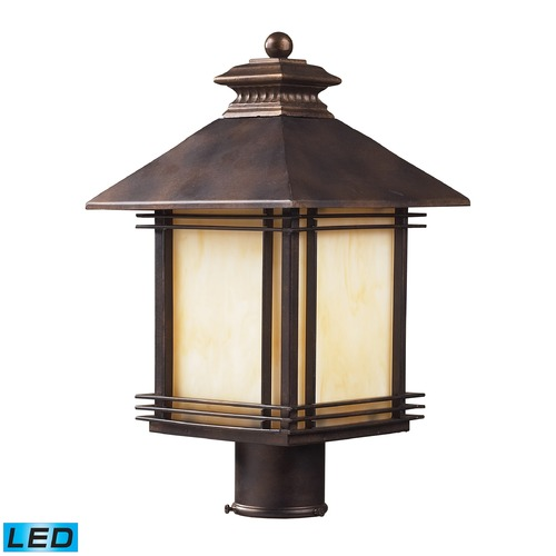 Elk Lighting Elk Lighting Blackwell Hazlenut Bronze LED Post Light 42104/1-LED