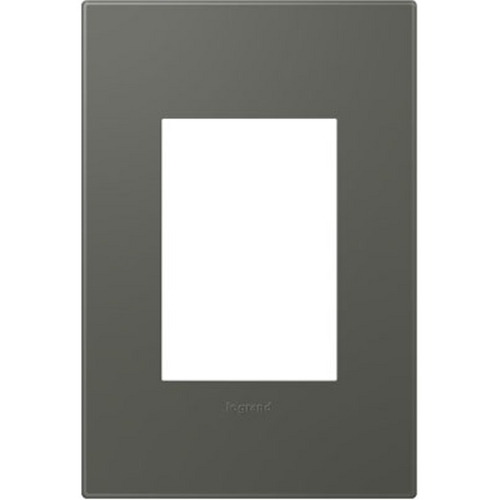 Legrand Adorne Legrand Adorne Soft Touch Moss Grey 1-Gang 3-Module Switch Plate AWP1G3MO4