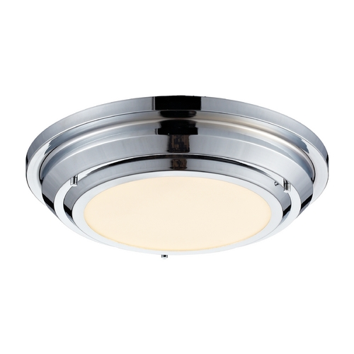 Elk Lighting LED Flushmount Light in Polished Chrome Finish 57010/LED