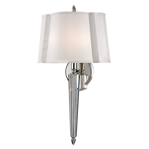 Hudson Valley Lighting Hudson Valley Lighting Oyster Bay Polished Nickel Sconce 3611-PN