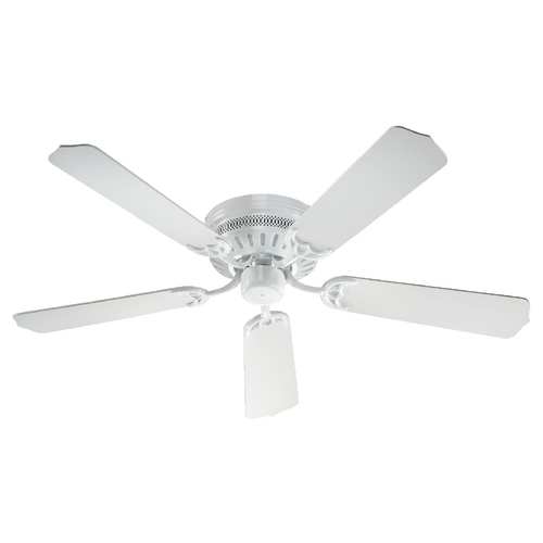 Quorum Lighting Quorum Lighting Hugger White Ceiling Fan Without Light 11525-6