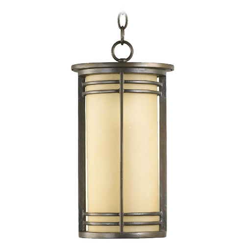 Quorum Lighting Quorum Lighting Larson Oiled Bronze Outdoor Hanging Light 7917-9-86