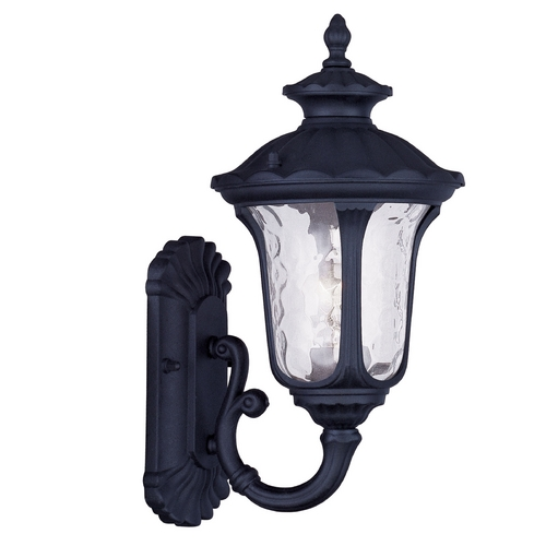 Livex Lighting Livex Lighting Oxford Black Outdoor Wall Light 7850-04