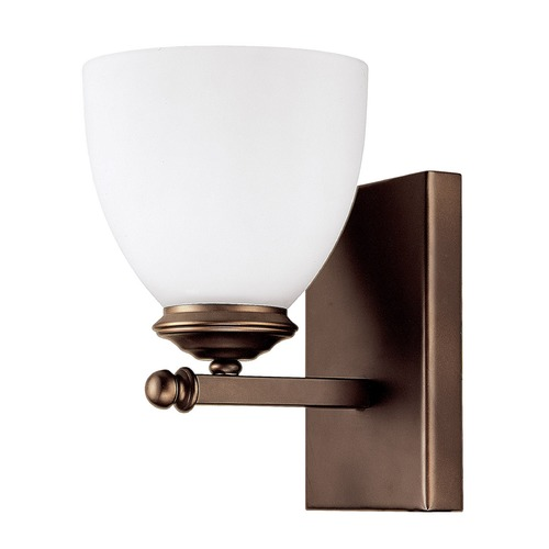Capital Lighting Capital Lighting Chapman Burnished Bronze Sconce 8401BB-202