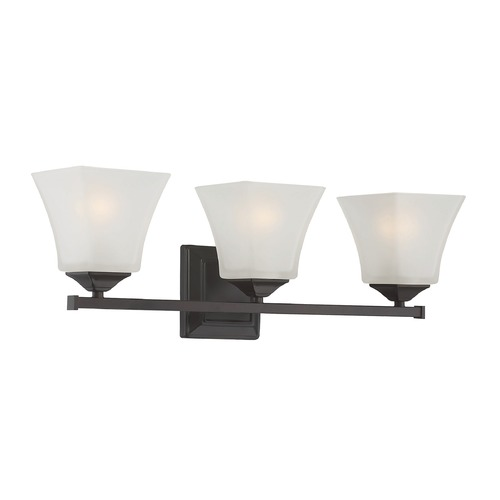 Savoy House Savoy House Lighting Castel English Bronze Bathroom Light 8-2098-3-13