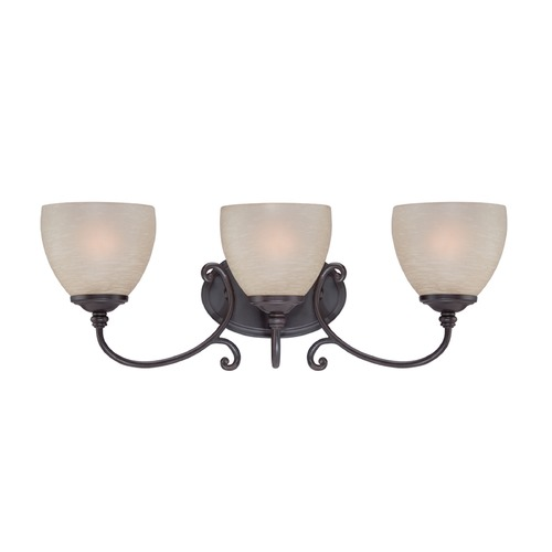 Designers Fountain Lighting Designers Fountain Tangier Natural Iron Bathroom Light 85503-NI