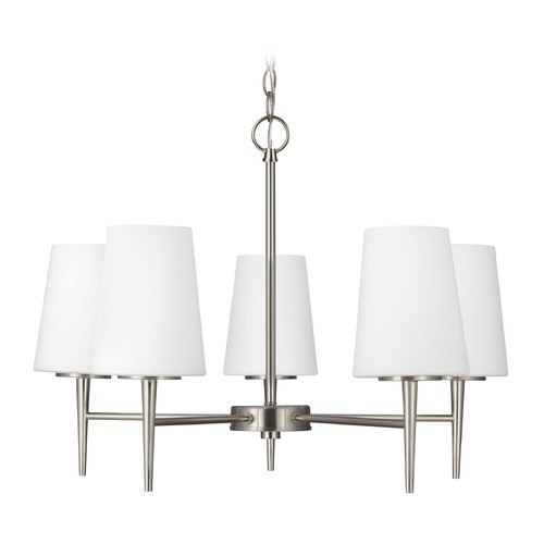 Sea Gull Lighting Sea Gull Lighting Driscoll Brushed Nickel LED Chandelier 3140405EN3-962