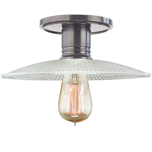 Hudson Valley Lighting Semi-Flushmount Light in Historic Nickel Finish 8100-HN-GS4