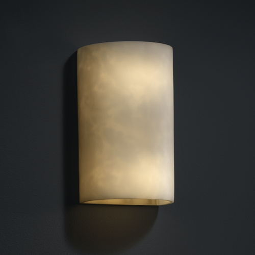 Justice Design Group Justice Design Group Clouds Collection Outdoor Wall Light CLD-1265W