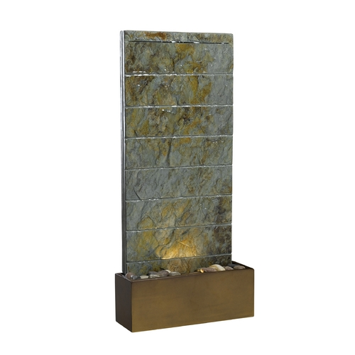Kenroy Home Lighting Fountain in Natural Slate Finish 50621SL