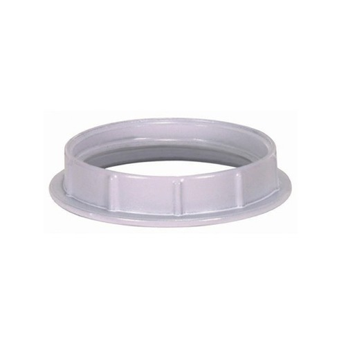 Satco Lighting Medium Base White Die Cast Socket Ring 80-1074