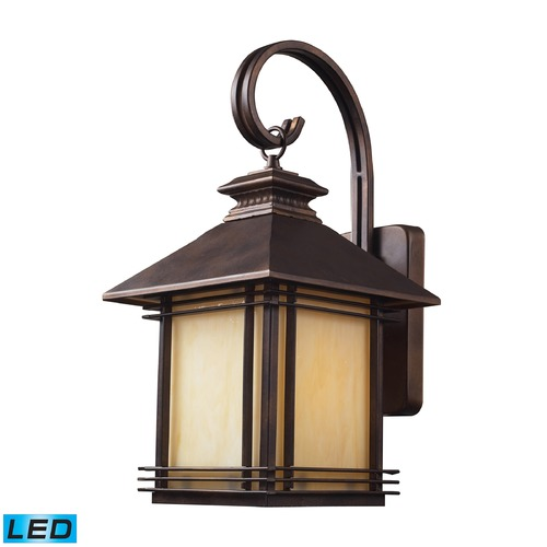 Elk Lighting Elk Lighting Blackwell Hazlenut Bronze LED Outdoor Wall Light 42101/1-LED