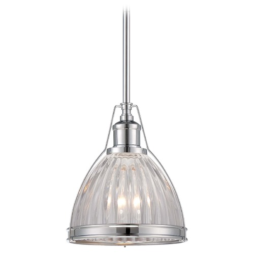 Minka Lavery Mini-Pendant Light with Clear Glass 2242-77
