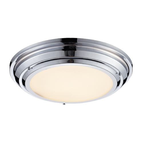 Elk Lighting LED Flushmount Light in Polished Chrome Finish 57011/LED