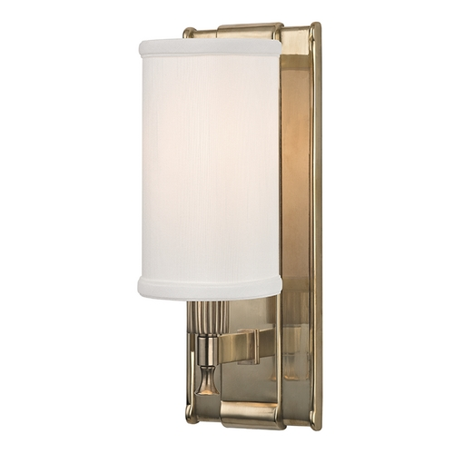 Hudson Valley Lighting Hudson Valley Lighting Palmdale Aged Brass Sconce 1121-AGB