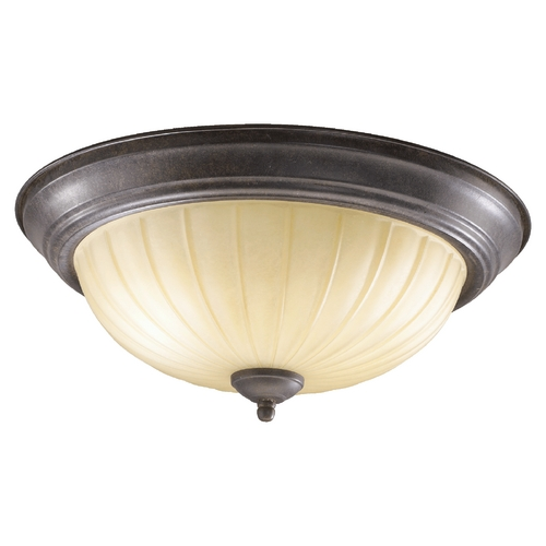 Quorum Lighting Quorum Lighting Toasted Sienna Flushmount Light 3077-15-44