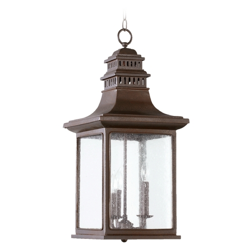Quorum Lighting Quorum Lighting Magnolia Oiled Bronze Outdoor Hanging Light 7045-3-86