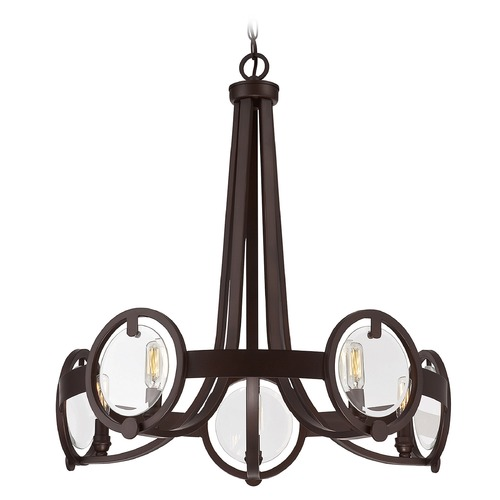 Savoy House Savoy House Lighting Byrne English Bronze Mini-Chandelier 1-661-5-13