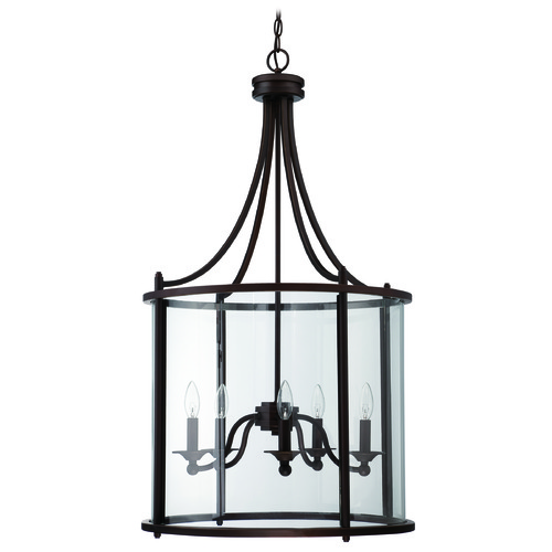 Craftmade Lighting Craftmade Carlton Aged Bronze Pendant Light 39535-ABZ